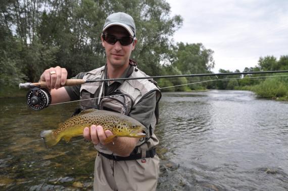 Brice Sylvain Agent de développement à la fédération de pêche