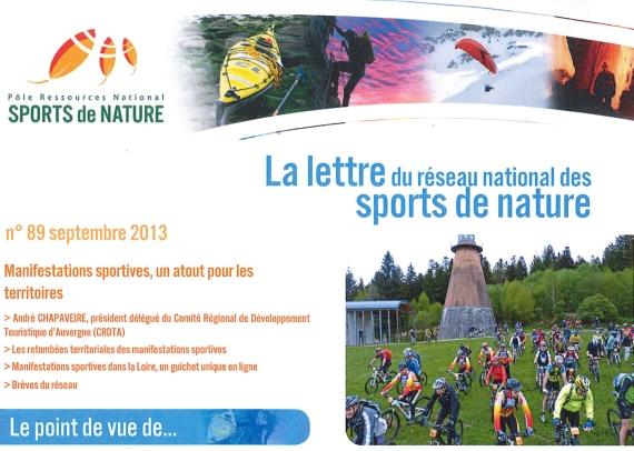 lettre reseau national sport de nature