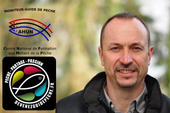 Bertrand Michalon moniteur guide peche mouche auvergne