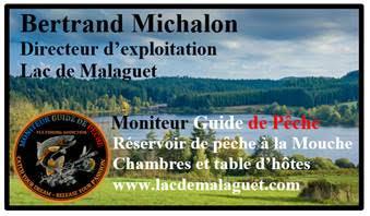 moniteur guide de pêche à la mouche lac malaguer