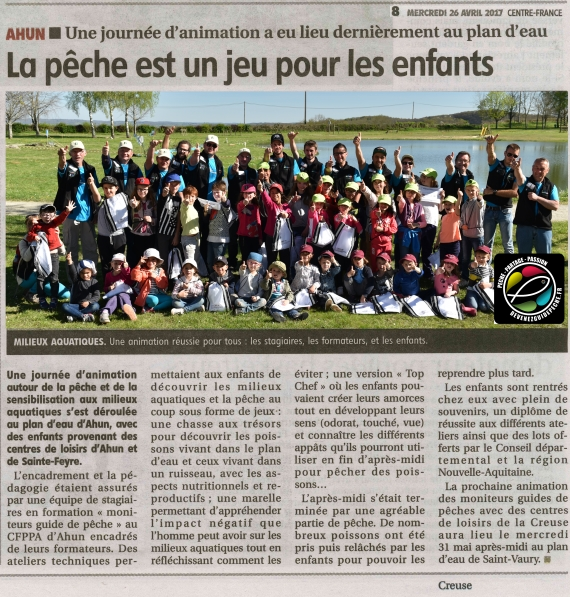 animation peche nature moniteur guide de pêche Yoann Esquis guide peche