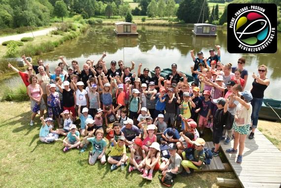 journée pêche animation peche nature école moniteur guide peche yoann esquis