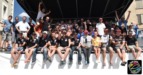 podium FTF OPen Fishing Game Limoges