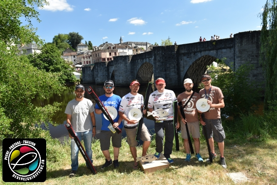 podium limoges FTF FISHING GAME 2017