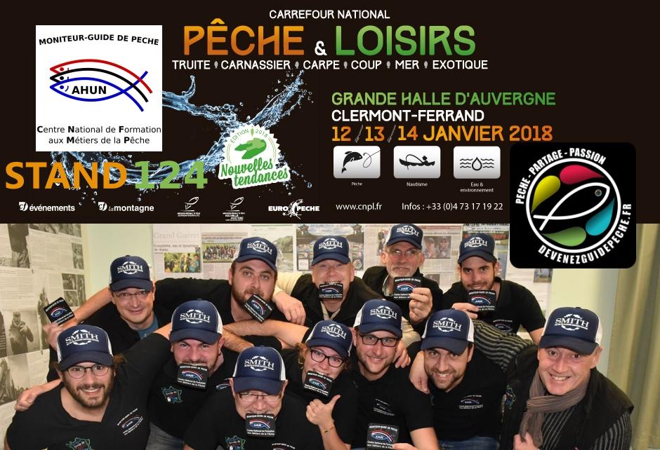 Carrefout National Pêche & Loisirs clermont moniteur guide de peche
