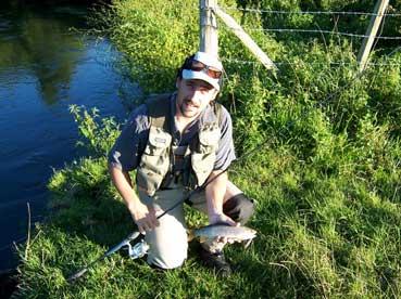 Moniteur guide de pêche Aquitaine