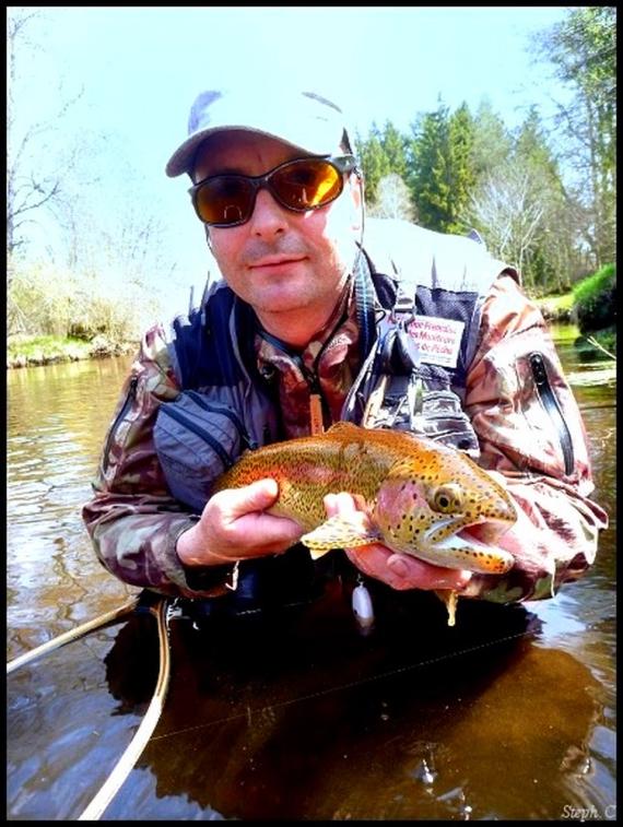 Vincent Botte, moniteur guide de pêche professionnel,