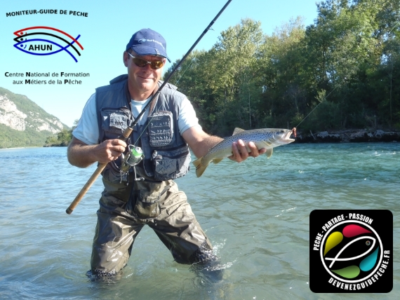 guide de pêche Rhône Alpes