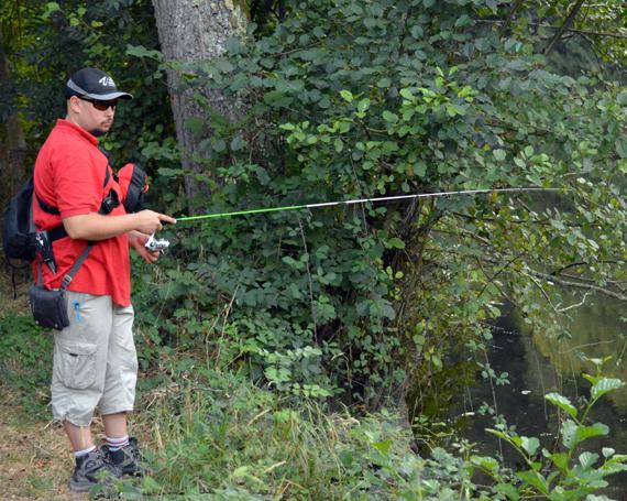 moniteur guide de pêche yohann Bienvault