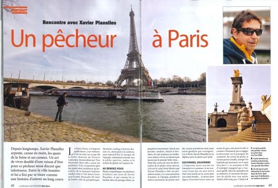 Xavier Planelles Moniteur Guide Peche Ahun