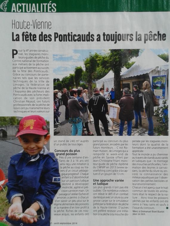 moniteur guide peche fete des ponticauds  savoiefishing