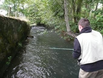 Moniteur guide de pêche à la Fédération de pêche