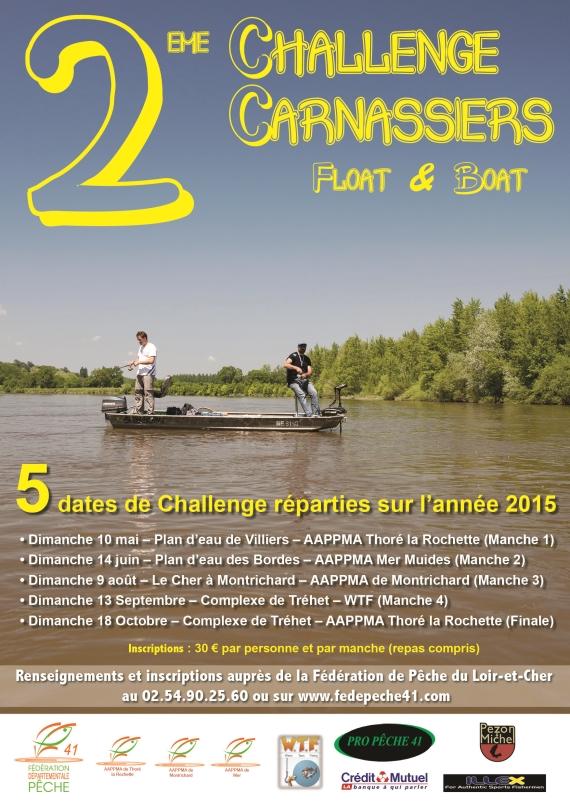 challenge carnassier float & boat