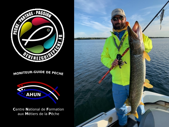 Moniteur guide de pêche en laponie suede et Finlande