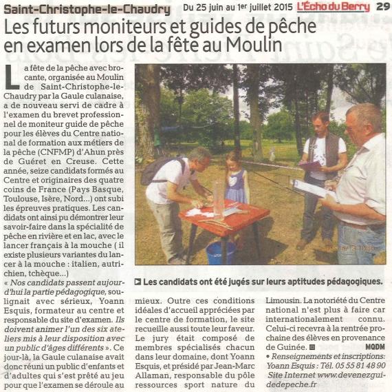 yoann esquis moniteur guide peche christophe le chaudry