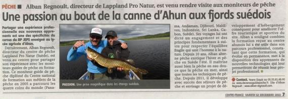 lappland pro nature guide peche suede alban regnoult