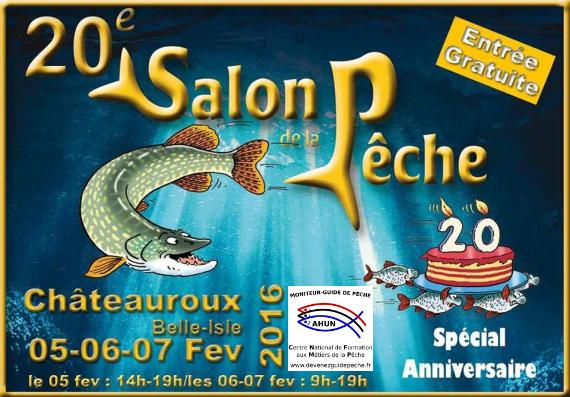 Le centre au salon de la pêche de Châteauroux