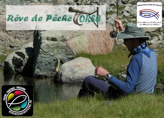 moniteur guide de pêche en Corse Jean christophe barbier