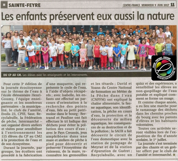 guide peche animation nature ecole primaire yoann esquis